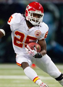 Jamaal Charles of the Kansas City Chiefs is ready to run and make history!