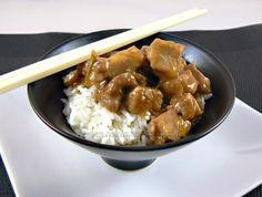 Porc sucré | Une cuisine pour Voozenoo Saveur, Chicken Wings, Asian, Nouvel An, Meat, Recipe Of The World, Asian Cuisine, Pork, Recipes