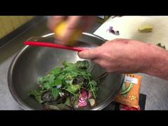 Recipe: Healthy Salad with Beets and Pea Sprouts - YouTube
