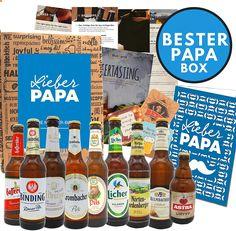 Die Bierbox enthält auch viele interessante und Wissenswerte Extras, wie:  Bier Info Blatt: Das erzählt genau, woher jedes Bier kommt, wer es gebraut hat und was das Besondere daran ist. Auch verraten wir Ihnen was sie zu welchem Bier am besten Essen. Bei Boxiland verschenken Sie nicht nur eine Bierauswahl, sondern ein ganzes Biererlebnis. Entdecken Sie die Biervielfalt! Bier-Tasting-Anleitung: Unsere Verkostungsleinleitung führt den Tester Schritt – für – Schritt durch ein Bier-Tasting. Sauce Bottle, Beer, Drinks, Greeting Card, Beer Gifts, Oktoberfest, Presents For Men, Fathers Day, Interesting Facts