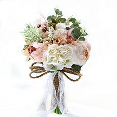 Category:Bouquets; Available Width:11.8(Approx.30cm); Height:9.84(Approx.25cm); Occasion:Wedding,Party / Evening; Material:Satin,Polyester,Rhinestone,Lace,Dried Flower,Spandex,Taffeta; Width:30; Listing Date:11/19/2016; Base Categories:Wedding Bouquets,Bridal Accessories,Clothing Accessories,Apparel  Accessories; Special selected products:COD Cheap Wedding Flowers, Bridal Flowers, Rose Wedding, Silk Flowers, Party Wedding, Fake Flowers, Rustic Flowers, Wedding Car, Spring Wedding