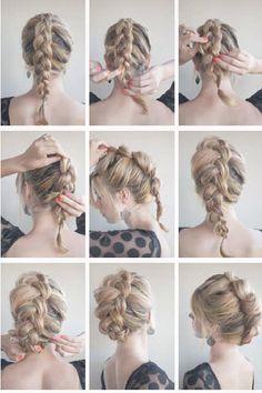 The Braid Hawk | Haare | Pinterest | Frisur, Haar und Hochsteckfrisur | Frauen Haare |