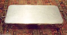 ART DECO SILVER HARRODS GRAND CHAFING WARMING TRAY SET - SUPERB Valued @ $1,900