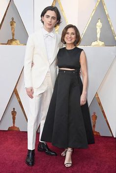 Timmy and his madre at The Oscars