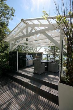 Grillikatos Outdoor Spaces, Outdoor Living, Timber Pergola, Grill Gazebo, Australia House, Landscape Plans, The Ranch, Outdoor Projects, Backyard Landscaping