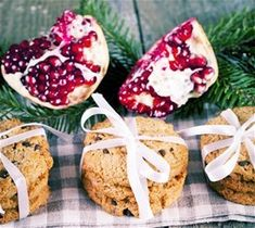 Μπισκότα με ρόδι – syntagesmearwmakaigeushgiamikrakaimegalapaidia Feta, Strawberry, Cheese, Fruit, Vegetables, Sweet, Candy, Strawberry Fruit, Vegetable Recipes