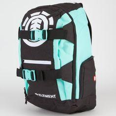 element surf skateboard green backpack