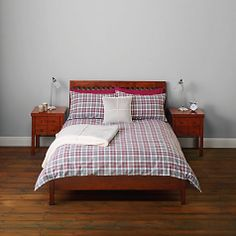 Buy John Lewis Robyn Checked Bedding Online at johnlewis.com