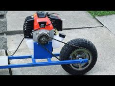 Build A Go Kart, Diy Go Kart, Triumph Motorcycles, Kids Go Cart, Velo Biking, Homemade Go Kart, Bicycle Engine, Wooden Cart, Gas Scooter