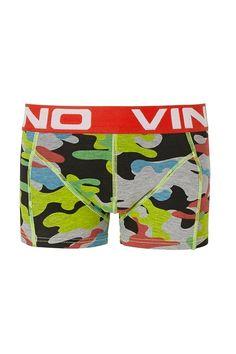 Vingino boxerhsort voor jongens Camo, groen