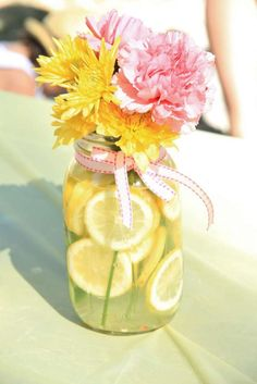 Pink Lemonade Birthday Party Ideas | Photo 6 of 16 | Catch My Party