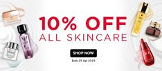 Enjoy on skincare at irresistible saving on all famous brands Discount Perfume, Beauty Sale, Discount Beauty, Shop Now, Hair Care, Famous Brands, Makeup, Skincare, Make Up
