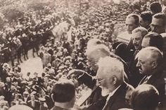 Murcia: on March 1932 when the President of the Second Spanish Republic Mr. Niceto Alcalá Zamora arrives to Murcia city on the Presidencial Train accompanied by the famous Spanish writer Mr. Murcia, Two By Two, Spanish, Writer, Train, York, Antique, City, 19th Century