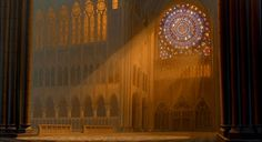 Animation Backgrounds: THE HUNCHBACK OF NOTRE DAME
