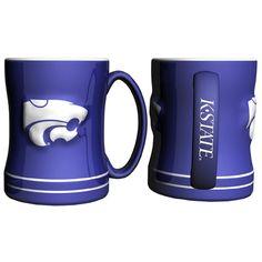 Kansas State Wildcats NCAA Coffee Mug - 15oz Sculpted (Single Mug)