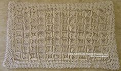 """SPEAKING OF CROCHET"" ~ wiggly crochet rug"