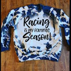 Race Day, Country Style Outfits, Bleach Shirts, Shirts For Girls, Dirt Track Racing, Monogram Shirts, Cute Wedding Ideas, Diy Shirt, Shirt Designs