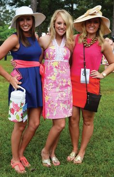 dee zees lilly loving at the carolina cup <3 of course they're lovely DZ's