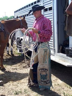 Rodeo pickup man from the Black Hills, SD Where My Husband Is From.. Too bad he wasn't a cowboy!!