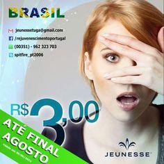 É verdade pessoal, a campanha promocional para o Brasil VAI FICAR MAIS UM MÊS NO AR!!!! Peça mais informações e cadastre-se por R$3,00 Reais ou invés do R$90,00 Reais. MUDE SEU FUTURO HOJE.