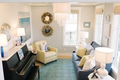 Front piano room