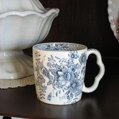transferware mug