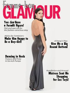 Femme-Boy Glamour for March Transgender Books, Read Magazines, Cd Art, Star Wars, Mistress, Crossdressers, Give It To Me, Girly, Glamour