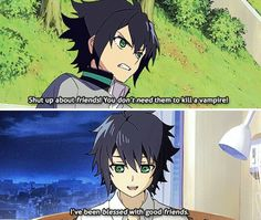 Owari No Seraph ||  Yuu is a cinnamon roll and no one can prove me otherwise