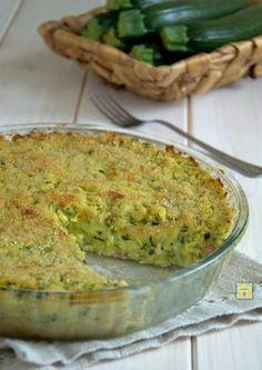 sformato di zucchine e patate saporito gp