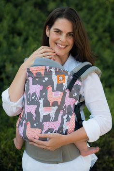 Tula Standard Ergonomic Baby Carrier- Alpaca Love
