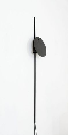 // Vico Magistretti; Enameled Metal and Brass 'Idomeneo' Wall light for O-Luce, c1985.