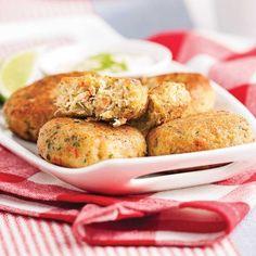 Crab cakes - Recettes - Cuisine et nutrition - Pratico Pratique