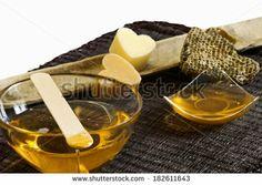 warm honey wax by Donatella Tandelli, via Shutterstock