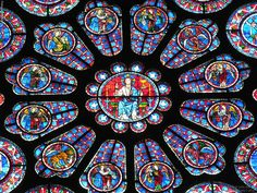 Catedral de Chartres, França.