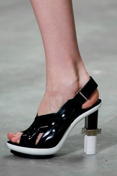 New York fashion week, catwalk, runway show, review, critic, spring summer 2014, shoes, Calvin Klein