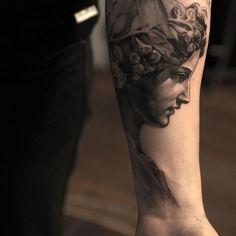greek tattoo - amazing design