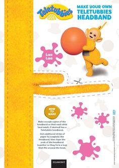 Make your own Teletubbies headband Find the brand new Teletubbies board books here http://amzn.to/29X9RTI