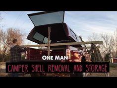 YouTube Truck Bed Camping, Minivan Camping, Diy Camping, Camping Hacks, Truck Shells, Truck Camper Shells, Kayak Storage Rack, Kayak Rack, Truck Canopy
