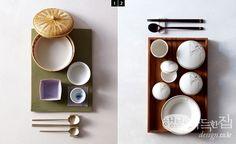 그릇에도 맛이 있다 | 쿠킹&다이닝 | 매거진 | 행복이가득한집 Restaurant Table Setting, Restaurant Tables, Tea Table Settings, Great British Chefs, Japanese Kitchen, Cafe Food, Tea Bowls, Korean Food, Ceramic Bowls