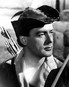 Richard Greene as Robin Hood .... Robin Hood, Robin Hood riding through the glen... oh yes..
