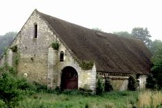 .: old french barn, Picardie, France. :.