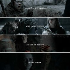 Follow gameofthrones_all. Arya stark. Quotes . Repost from my IG-gameofthrones_all