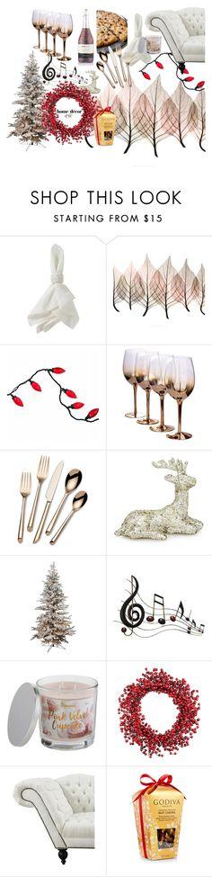 """party"" by rubyw00 on Polyvore featuring interior, interiors, interior design, дом, home decor, interior decorating, Juliska, Artistica, Towle и Benzara"