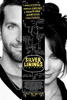 Silver Linings Playbook  A great movie with Bradley Cooper and Jennifer Lawrence...Also Robert DeNero
