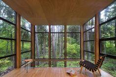 30 домиков в лесу, в которые хочется уехать навсегда