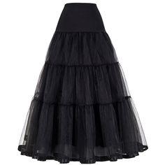 ヴィンテージドレスペチコートウェディングドレスのレトロクリノリン女性ウェディングアクセサリーブラックホワイトロングペチコートペチコートアンスコ