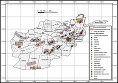 Known resources in Afghanistan