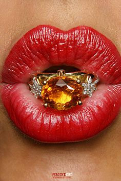 Lips by Florry one, via Flickr