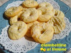 Ciambelle al limone | #CucinareMeglio #ricette via @CucinareMeglio