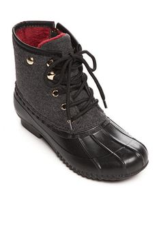 fac5b254bc9437 Tommy Hilfiger Roan Lace-up Duck Boot